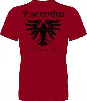 Kult der Krähe-Shirt (Rot)