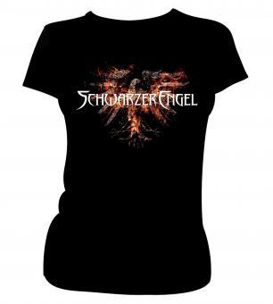 """GIRLIE-Shirt """"Aschekrähe"""" XL"""