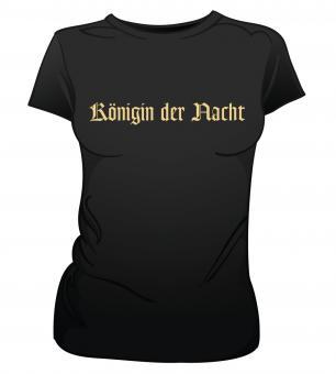 "GIRLIE-Shirt ""Königin der Nacht"" M"