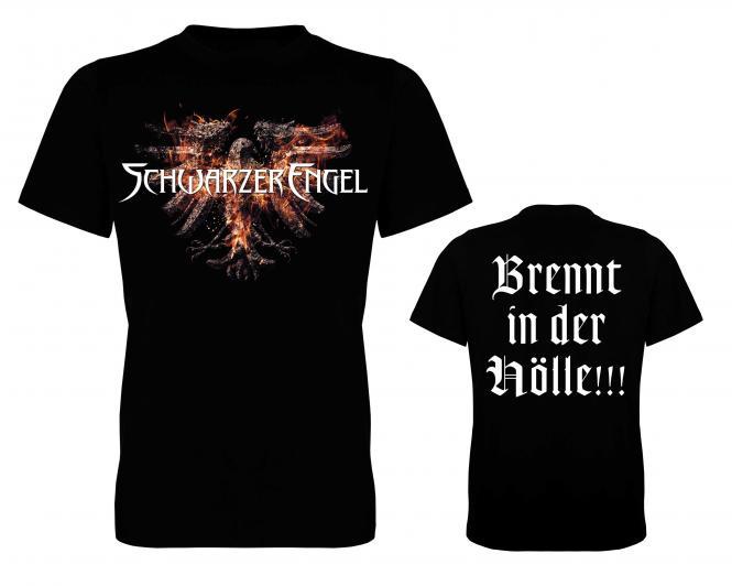 Brennt in der Hölle-Shirt L