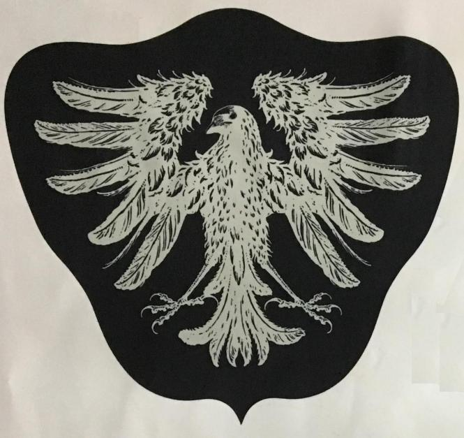 "Backpatch ""Die Krähe"" (groß)"