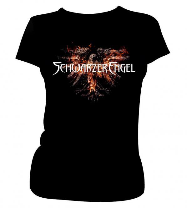 """GIRLIE-Shirt """"Aschekrähe"""""""
